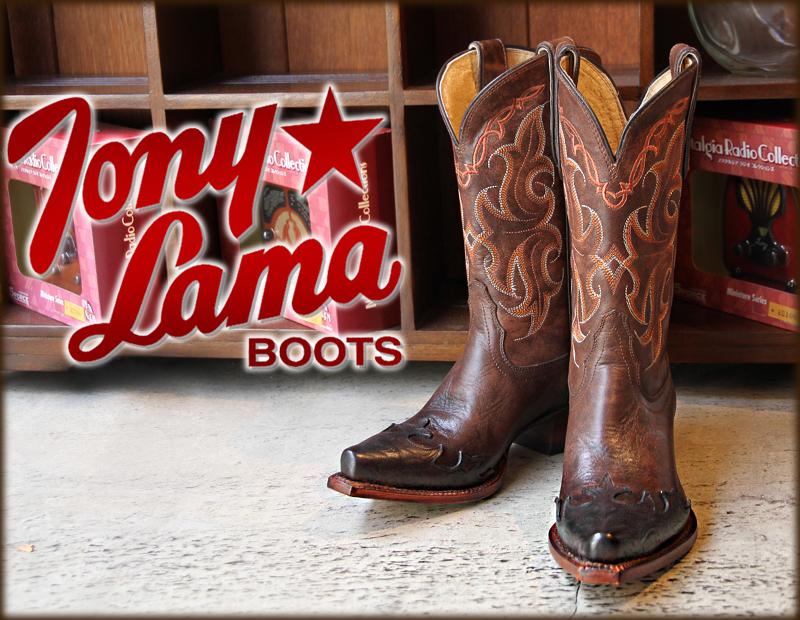 トニーラマ(tony Lama)vf 6005 Clay Santa Fe の詳細ページです|western